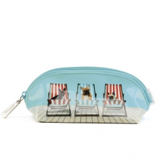Catseye London Deckchair Dogs Make-up etui